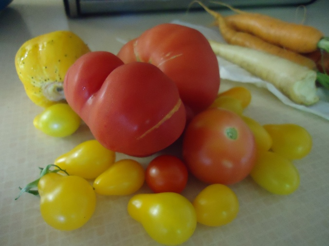 Crazy for tomatoes
