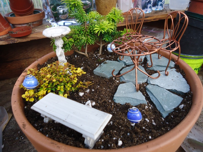 how to make a miniature garden