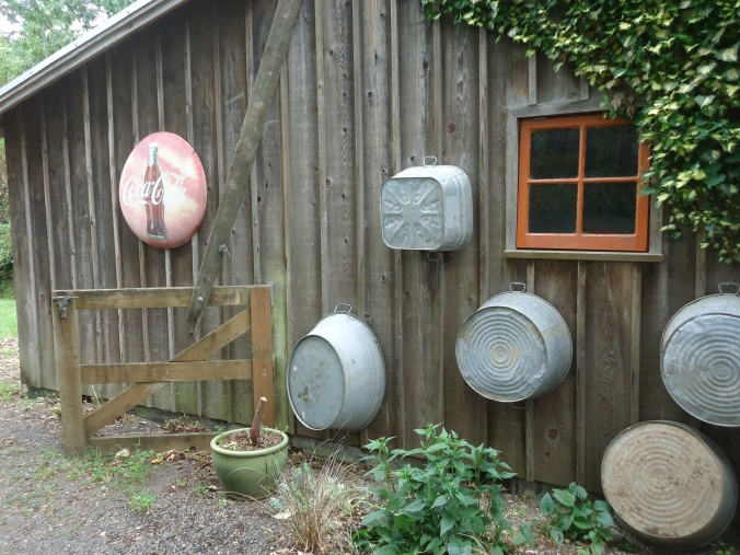 Garden art at Bella Madrona