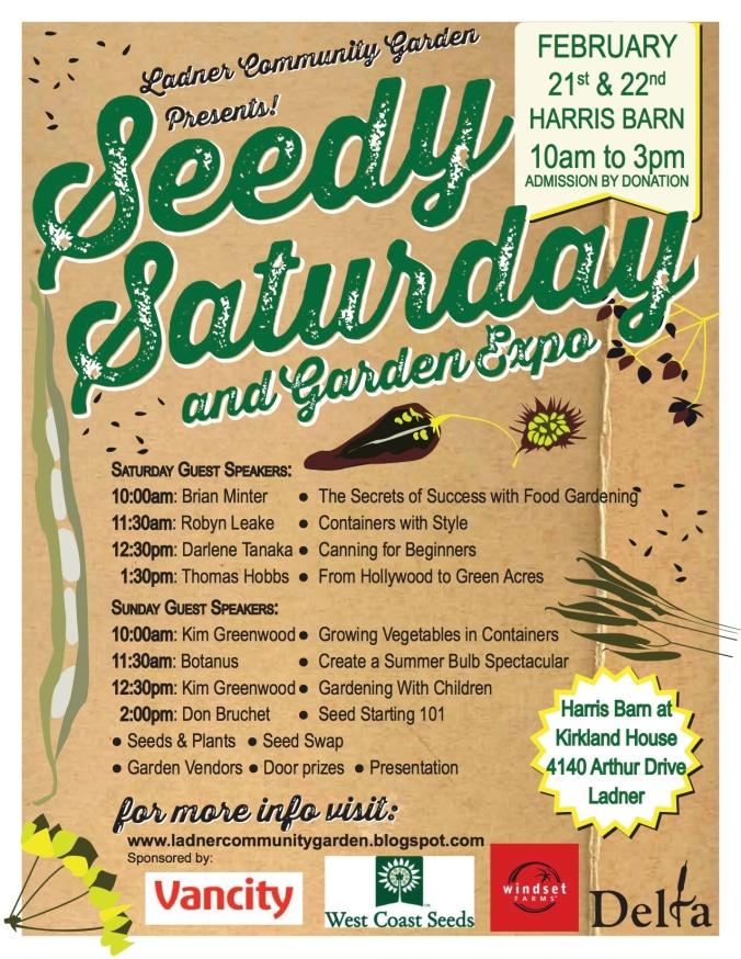 Ladner Seedy Saturday 2015