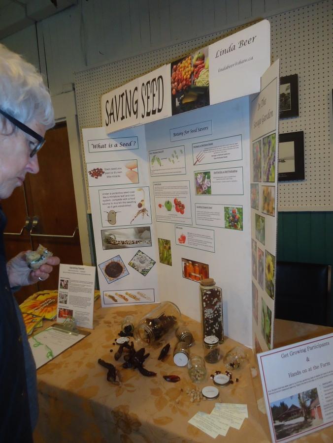 Mayne Island Seedy saturday- How to Divide Perennials