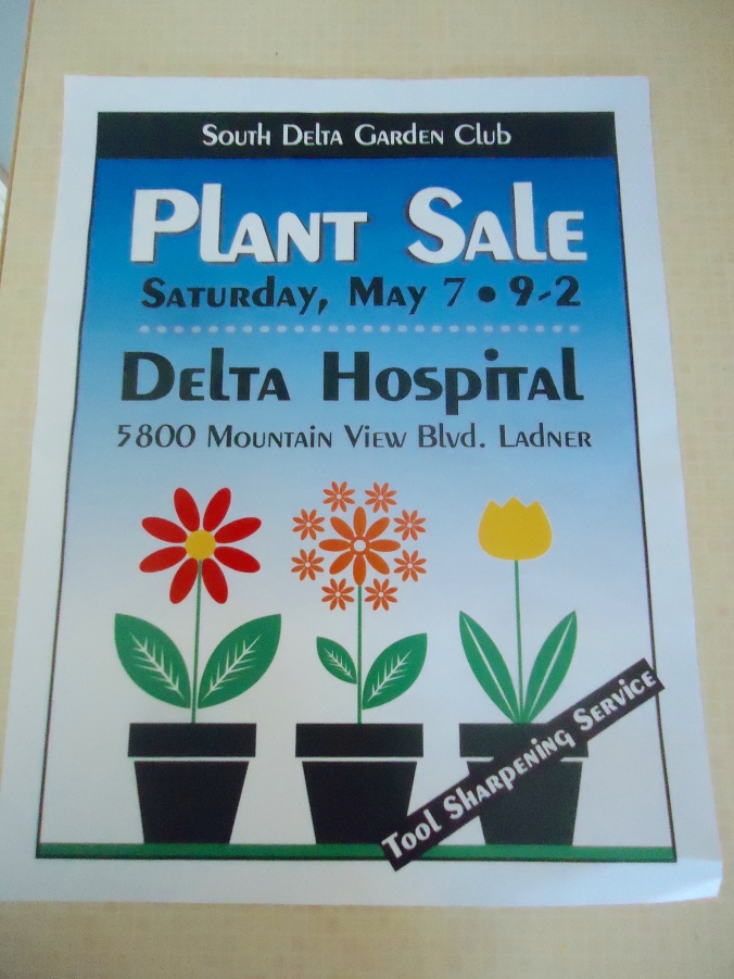 Plant Sale Frenzy in Delta